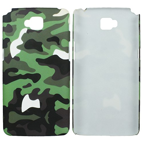 Heartly Army Style Retro Color Armor Hybrid Hard Bumper Back Case Cover For LG G Pro Lite D686 D684 Dual Sim - Army Green  available at amazon for Rs.249