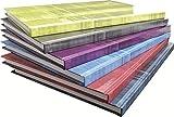Clairefontaine 9042C Kladde A4, starker Deckel, kariert, 96 Blatt, farbig sortiert