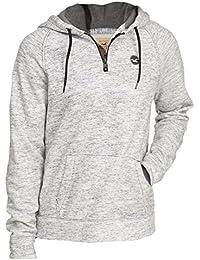 Hollister - Homme - Half-Zip Icon Hoodie Sweat à Capuche Sweatshirt - Manche Longue