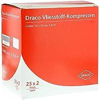 VLIESSTOFF-KOMPRESSEN 10x10 cm steril 4fach 50 St Kompressen preisvergleich bei billige-tabletten.eu