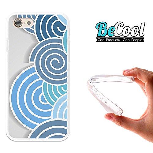 BeCool®- Coque Etui Housse en GEL Flex Silicone TPU Iphone 8, Carcasse TPU fabriquée avec la meilleure Silicone, protège et s'adapte a la perfection a ton Smartphone et avec notre design exclusif. Cou L1047