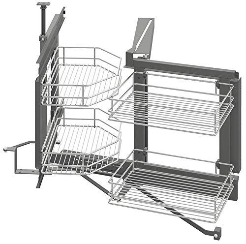 Gedotec - Herraje giratorio armario cocina bandeja