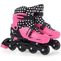 2in 1roller skate fitness salti scarpe adulto bambini saltare scarpe scarpe, shocking pink, L (EU 39-42?50-70KG?)