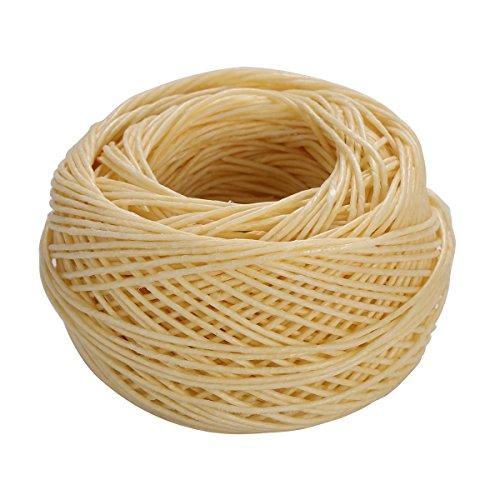 SUPVOX 61M Cordón algodón Encerado Mecha cáñamo