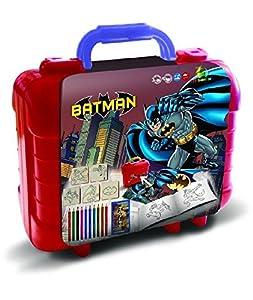 Multiprint Batman - Juegos de Sellos para niños (Multicolor, Caucho, Madera, 3 año(s), Italia, 230 mm, 105 mm)