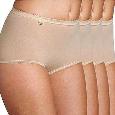 Sloggi Womens Basic+ Maxi Brief Skin 4 Pack