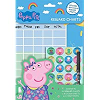 Childrens Wipe Clean Reward Charts With Stickers & Pen 3 Designs Weekly Planner