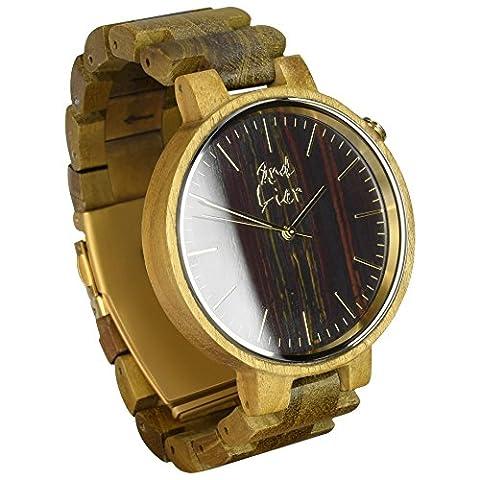 2nd Liar / Stonewatch / einzigartige Holz Armbanduhr / edle