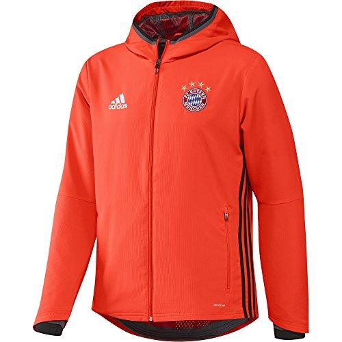 Adidas Veste d'entraînement/de représentation Avant-Match du FC Bayern Munich Homme L Solar Red