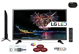 LG 32LH510U LED TV with Freeview HD 720p with Triple XD Engine for best picture - Built In Games - Virtual Surround Sound - USB Recording - LNB Sattelite input - Full function Remote and multipurpose wallet.