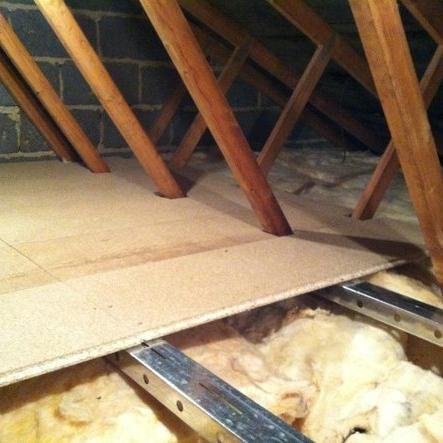 Loft Insulation Spacer and Loft Storage / Boarding (3m2 kit, without boards)