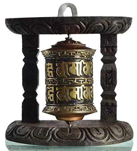 Wand - Gebetsmühle 10 cm tibetische Gebetsmühle - Tibetische Gebetsmühle