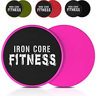 Exercise Sliders for Fitness Strength and Fat Loss. The Ab Workout Equipment for Women and Men Used by Trainers as Core Workout Equipment. Gymnastics Sliders Body Sliders for Working Out on Carpet