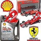 Shell Helix Ultra ECT C3 5w30 Motoröl 100% Synthetisch. 10LT + 2 Ferrari Modelle.