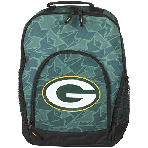 Forever Collectibles Green Bay Packers Camouflage Backpack Bag Rucksack Tasche (Bag Bay)