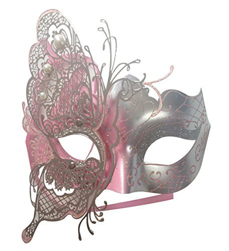 ianische Schmetterlings-glänzende Schmetterlings-Dame Masquerade Halloween-Karneval-Party-Maske ()