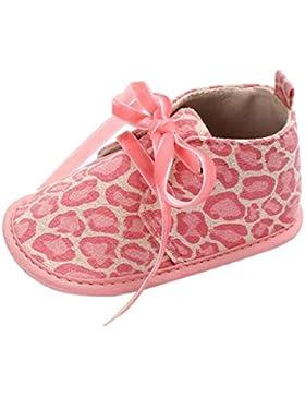 JERFER Baby Kind Kinder Mädchen Jungen Weiche Sohle Krabbel Kleinkind Neugeborenen Schuhe Lauflernschuhe 0-18 M