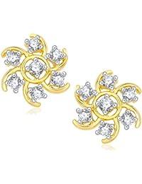 Meenaz Ear Rings For Girls Earrings For Women In American Diamond Jewellery For Women T414