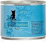 Catz finefood Katzenfutter No.13 Hering und Krabben 200g, 6er Pack (6 x 200 g)