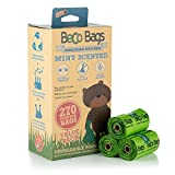 Beco Pets Staubbeutel Travel Pack 270Große, Starke Kotbeutel für Hunde, Minze Duft