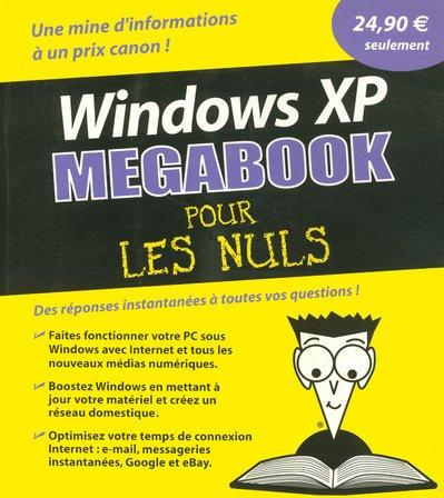 WINDOWS XP MEGABOOK POUR NULS