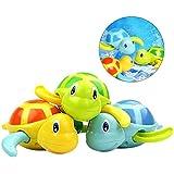 [Patrocinado]TOYMYTOY 3pcs bebé baño juguetes de natación bañera linda tortuga natación juguetes