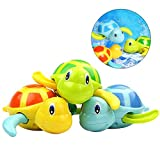 TOYMYTOY 3pcs bebé baño juguetes de natación bañera linda tortuga...