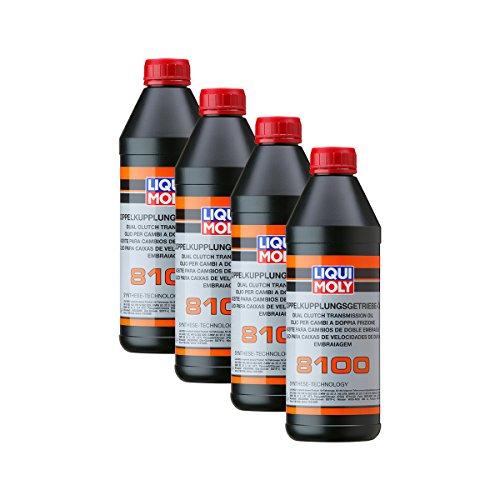 4 x Liqui Moly 3640 Doppio Kupplungs Ingranaggio per Olio 8100