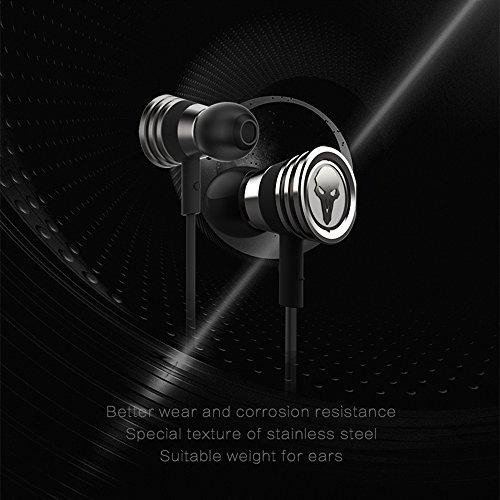 Rmplayer OT01 HiFi-Kopfhörer In-Ear für Spiel - Metallic Black - Bild 3