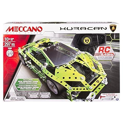 Meccano - 6028405 - Jeu de Construction - Lamborghini Huracan RC
