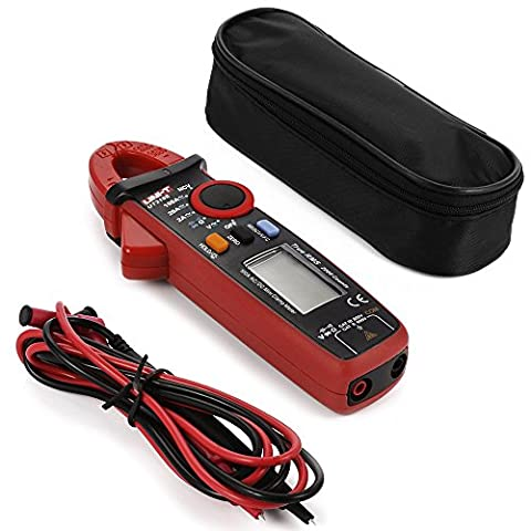 UNI-T UT210E Multimètre-pince Mini pince, AC/DC/Résistance/Capacité, Dispositif de test Véritable RMS 200A BI187