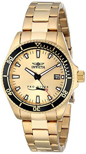 Invicta 15138SYB – Reloj para mujeres color dorado