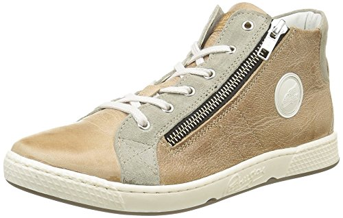 Pataugas Jazzy J2B, Sneakers Alti Bambino, Beige (cachi), 29