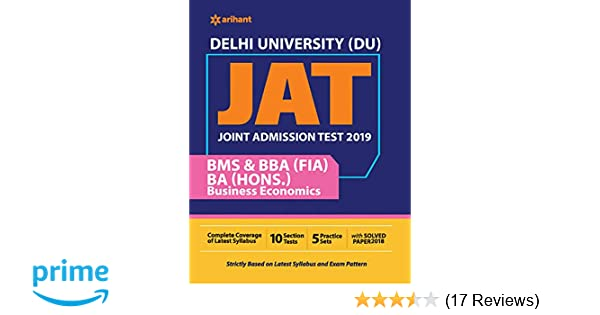 Buy Delhi University BMS Guide 2019 Book Online at Low