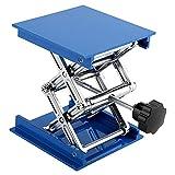 Plataforma Elevadora de Laboratorio, Azul Alúmina 100 x 100 x 40 MM / 3.94 x 3.94 x 1.57 Pulgadas 16CM / 6.3 Pulgadas 5 kg (Max) Peso Aproximado 500G
