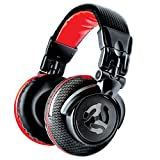 Numark Red Wave Carbon – Lightweight High-Quality Full-Range DJ Headphones With Swivel Design, 50 mm Drivers, Detachable Headphone Cable, 1/8-Inch Adapter and Case Included