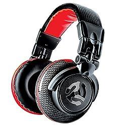 Numark Qualitativ hochwertige Full-Range Kopfhörer speziell für DJs, mit Drehgelenken, 50 mm-Treibern, abziehbarem Kabel, 3,5 mm-Adapter und Tasche im Lieferumfang enthalten, Bunt