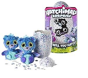 HATCHIMALS Spin Master Surprise Purple Teal Egg, versión importada
