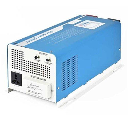 Chargeur d'onduleur en onde sinusoïdale pure numérique intelligente Tumo-Int 6000W DC 48V à AC 220V