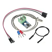 Andoer DC 5V MAX6675 Module 0°C~1024°C + K-type Thermocouple Temperature Sensor Probe for Arduino