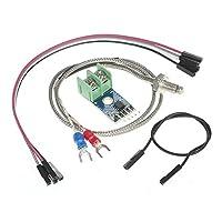 Andoer DC 5V MAX6675 Module 0°C~1024°C + K-type Thermocouple Temperature Sensor Probe for Arduino