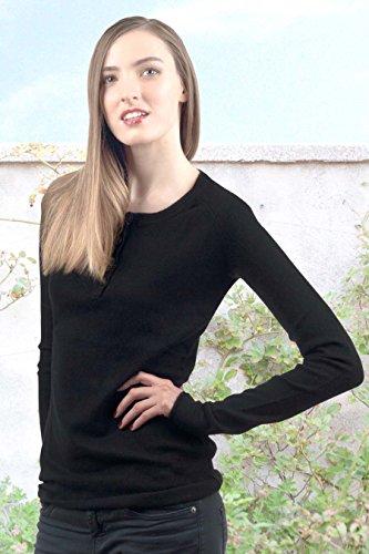 Cashmere MOGOTCHA-Pullover da donna Grigio antracite