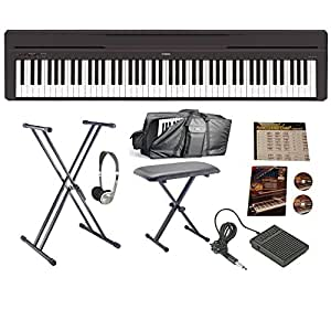 yamaha p45 huge bundle musical instruments