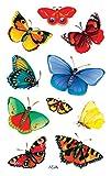 AVERY Zweckform 55710 Deko Sticker Schmetterlinge 30 Aufkleber