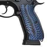 Guuun CZ Griffe für CZ 75 Volle Größe SP-01, G10 Sunburst-Textur