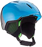 ALPINA Jungen Carat LX Skihelm, Green-Blue-Grey, 54-58 cm