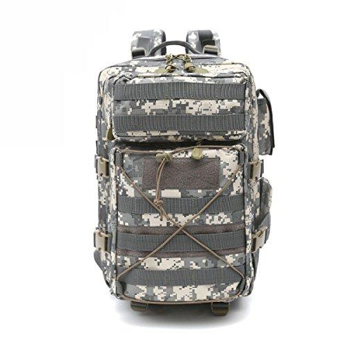 Outdoor Zaino Camouflage Da Viaggio Borsa Impermeabile Casuale Zaino,CPcamouflage-OneSize ACUcamouflage