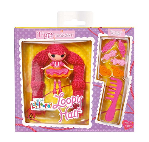 MGA Entertainment 527503GR - Mini Lalaloopsy Loopy Hair - Tippy