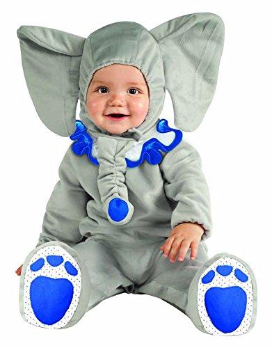 Imagen de rubie's  disfraz de elefante para bebé, 12  18 meses 881527t