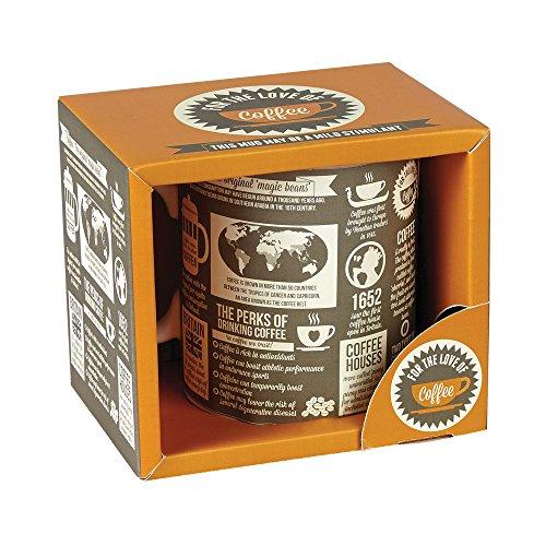 Preisvergleich Produktbild Ginger Fox Coffee Facts Mug by Ginger Fox